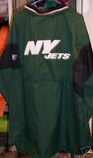 NEW * NEW YORK JETS WINDBREAKER JACKET COAT S GREEN