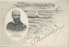 ARGENTINA POLAR EXPEDITION 1903 SIGNED BY NORDENSKJÖLD