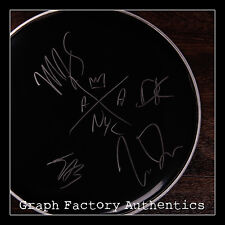 GFA Best Day of My Life * AMERICAN AUTHORS * Signed New Drumhead PROOF COA