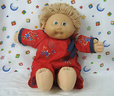 Vintage 1978-1982 Cabbage Patch Kids Doll Wearing Asian Style Pajamas