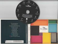 THE CONCRETES In Colour 2006 UK 12-track promo CD