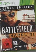 Battlefield Hardline, Deluxe Edition inkl. Battlepacks, XBOX 360, NEU & OVP