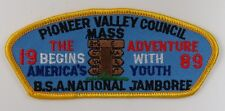 1989 National Jamboree Pioneer Valley JSP YEL Border [G1350]