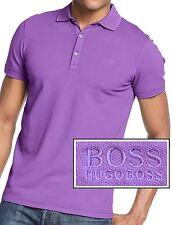 NWT Hugo Boss Black Label By Hugo Boss Slim Fit Cotton Stretch LOGO Polo Shirt