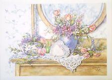 Jacquelyn Taylor-  untitled floral still life.  LTD ED  S/N: 588/750
