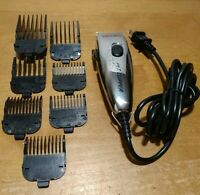 ANDIS PET CLIPPER ELECTRIC  MODEL PM-1 Bundle with 7 Guards