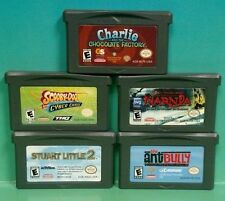 Scooby-Doo Narnia Any Bully Stuart Little Charlie Choc Nintendo Game Boy Advance