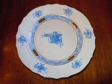 Herend Chinese Bouquet Blue ~  Bread & Butter Plate ~ 1515 Perfect Condit MINT