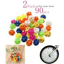 2 Pack Multi Coloured Bike Wheel Spoke Beads Decors Spokey Decor for All Cycle