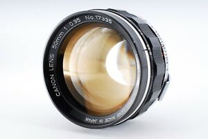 【Near Mint】CANON 50mm F0.95 DREAM LENS Made In JAPAN Canon L mount From Japan