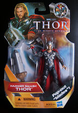 Marvel Universe  Hammer Smash Thor action figure