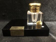 Vintage Montblanc Crystal Inkwell Some Small Scratches
