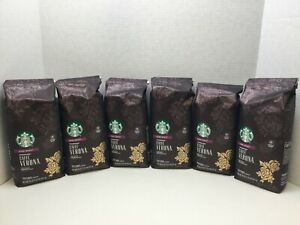 Starbucks Caffe Verona Roast Whole Bean, Dark Roast, 7.5LBS, Case of 6, MAR/2021