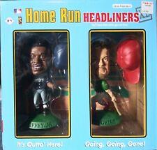Mlb 1998 Home Run Headliners Mark Mcgwire & Ken Griffey Jr. Bobblehead Nib Rare