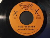 Bob Kuban & The In-Men ‎– The Cheater VG+ Original Musicland USA 45 Record 1965