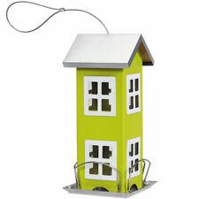 Wild Bird House Feeder Weatherproof Easy Clean Garden Yard Decoration Green