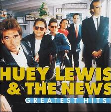 HUEY LEWIS & THE NEWS - GREATEST HITS CD ~ I WANT A NEW DRUG +++ 80's POP *NEW*