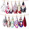Fashion Womens Square Satin Silk Scarf Scarves Bandanas Head Wrap Shawl 50*50CM