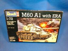 Revell M60 A1 with ERA model kit 03168, 1:72 Scale. STILL SEALED!