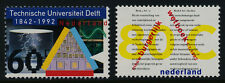 Netherlands 804-5 MNH Delft University of Technology, Civil Code