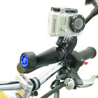 Motorrad M Lenker Klemme & Lang Sicherheit Pin-Lock Arm Für GoPro Hero Kamera