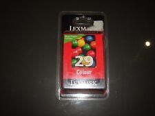CARTOUCHE LEXMARK 29 COULEUR NEUVE SOUS BLISTER