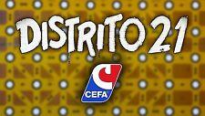 Multi-Anuncio de accesorios del juego de mesa DISTRITO 21 de CEFA