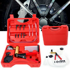 Car Handheld Vacuum Pressure Pump Tester Kit Brake Fluid Bleeder Suction Copper