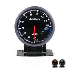 """2.5"""" 60mm Pointer Exhaust Gas Temp Temperature Gauge LED EGT Test Thermometer"""