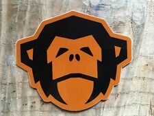 Howler Bros Burnt Clay Small Monkey Head Sticker