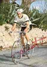 MICHEL LAURENT Team PEUGEOT 77 Signed Autographe cycling Signé cyclisme cyclist