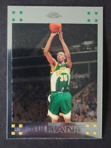 2007 - 2008 Topps Chrome Rookie Kevin Durant Seattle Supersonics #131 Card