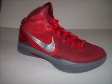 NIKE ZOOM FLYWIRE men's red athletic shoes US Sz 8.5M  EUC