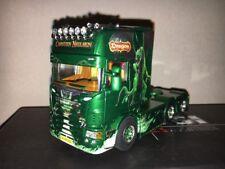 WSI 1:50 Scania R 6x2 TL Carsten Nielsen Green Dragon Dänemark 05-0001