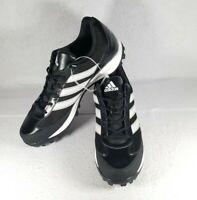 Adidas Mens Turf Hog LX Low Football Cleats Black & White G67097 Size 15