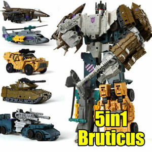 HXZ 12in Bruticus 5in1 Deformable Robot Action Figure IDW Comic G1 Autobot Toys