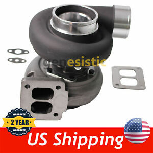 GT45 BLACK T4  1.05 A/R 98MM HUGE 600+HPS BOOST UPGRADE RACING TURBO CHARGER GT