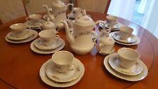 WLOCLAWEK Porzellan Teeservice Poland aus 39 tlg