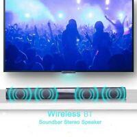 20W Portable Wireless Column Soundbar Bluetooth Speaker Home Theater For TV PC