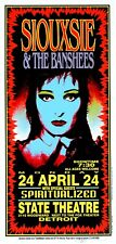 Siouxsie And The Banshees POSTER Spiritualized Concert Art Mark Arminski Signed
