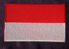 INDONESIA FLAG PATCH EMBROIDERED JAKARTA INDONESIAN FLAG PATCH DIY