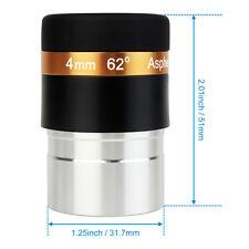 "SVBONY 1.25"" 4mm Wide Angle 62° Aspheric Telescope Eyepiece HD Fully Coated Lens"