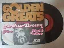 vinyl   ARTHUR BROWN     ---FIRE/NIGHTMARE    ***PRINTED IN  GERMANY***