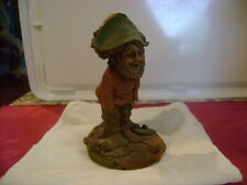1984 Thomas F. Clark Gnome Boo #42 Woodspirit Figurine W/Coa Signed