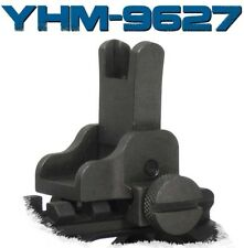 Yankee Hill YHM-9627 Same Plane Flip Front Sight Picatinny Steel 223 / 556