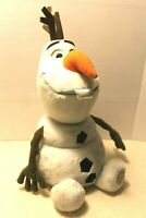 """Authentic Disney Store FROZEN Large Plush Olaf 14"""" Stuffed Doll Snowman Toy"""