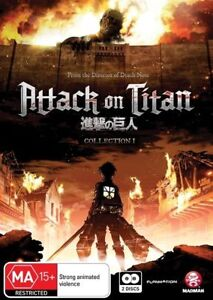 Attack On Titan : Collection 1 (DVD, 2014, 2-Disc Set) $59rrp- BRAND NEW+SEALED