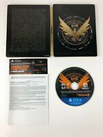 Tom Clancy's The Division 2 Ultimate Edition Steelbook & Game for PS4 / NO DLC