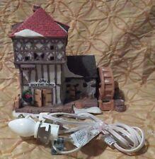 "Dickens' Village ""Blythe Pond Mill House"" Lighted House"