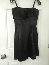 New Sisters Point Danish Dress Girls Women Little Black Dress Size S 8 UK 36 EU